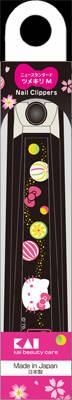 蒔絵×キティをテーマにしたツメキリ あわせ買い2999円以上で送料無料 貝印 キティ和風ニュースタンダードツメキリMあめD 和風 ハローキティ 海外並行輸入正規品 2020秋冬新作 4901601283471 爪切り