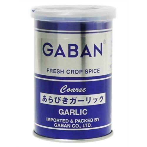 【送料無料・まとめ買い×60個セット】ハウス食品 GABAN ギャバン あらびきガーリック 缶(75g)