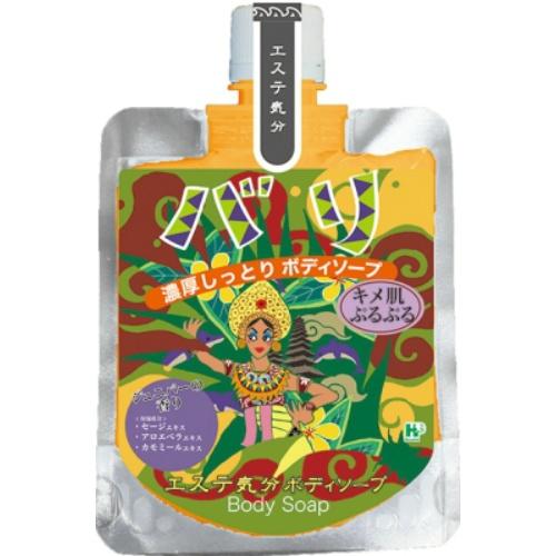 【送料無料・まとめ買い×36個セット】ヘルス エステ気分 ボディーソープ バリ ジュニパーの香り 100g