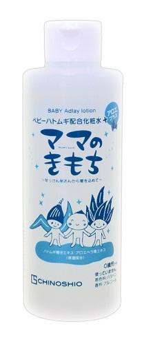 家族みんなで使えるベビーシリーズ あわせ買い2999円以上で送料無料 ちのしお社 ママのきもち 最新アイテム 定価 内容量:200mL ベビーハトムギ配合化粧水 4982757916505