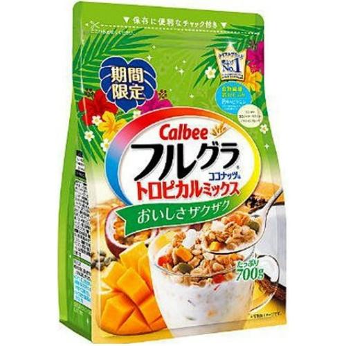 カルビーフルグラトロピカルココナッツ taste 700 g *6 set (4901330742058)