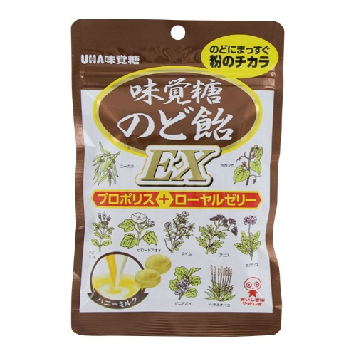 【送料無料】 味覚糖 味覚糖のど飴EX×72個セット (4902750617032)
