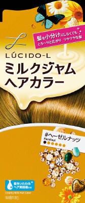 毛染め ミルクジャム剤がとろりとのびて髪にぴったり密着するヘアカラー おしゃれ染め 女性用です 髪の表面だけでなく 内側の髪までなじんで密着するから ムラなくキレイに あわせ買い2999円以上で送料無料 ヘアケア特売 マンダム 4902806211122 ルシードエル 内容量:ヘアカラー 40g 新作入荷!! アフターカラー美容液 ヘーゼルナッツ 5g OXウォーター 商舗 ミルクジャムヘアカラー 80ml
