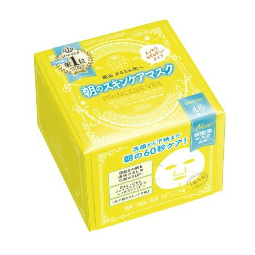 KOSE clear turn Princess veil morning coat skin care mask 46 pieces (4971710389425)