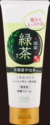 毎日の洗顔 国産素材で 【送料無料】ロッシモイストエイド 国産ホイップ洗顔R(緑茶)120g×48個セット (4936201101467)