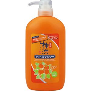 【送料無料】薬用 柿渋リンスインシャンプー 本体 600ml×16個セット (4513574025806)
