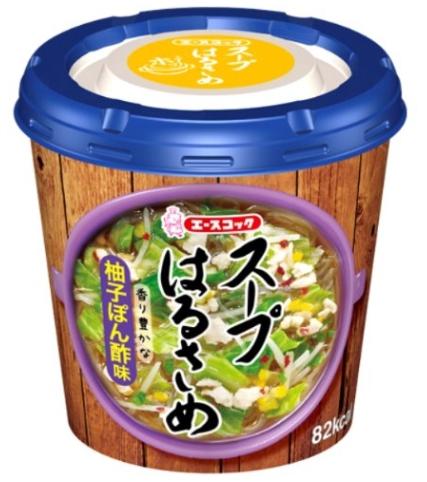 【送料無料】エースコック スープはるさめ 柚子ぽん酢味×36個セット (4901071277543)