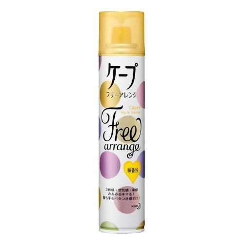 【送料無料・まとめ買い×20個セット】花王 ケープ フリーアレンジ LL 微香性 140g