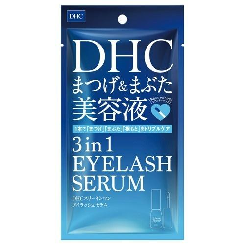 【送料無料・まとめ買い×48個セット】DHC スリーインワンアイラッシュセラム 9ml まつげ&まぶた美容液