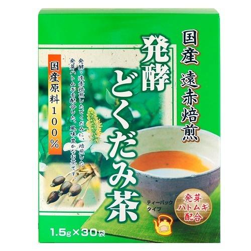 国産原料100%風味豊かなお茶 4903361131184  【送料込・まとめ買い×20個セット】ユニマットリケン 発酵どくだみ茶 30袋入