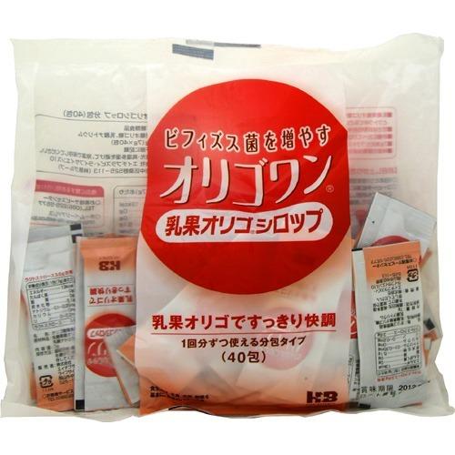 【送料込・まとめ買い×12個セット】オリゴワン 乳果オリゴシロップ 7g×40包