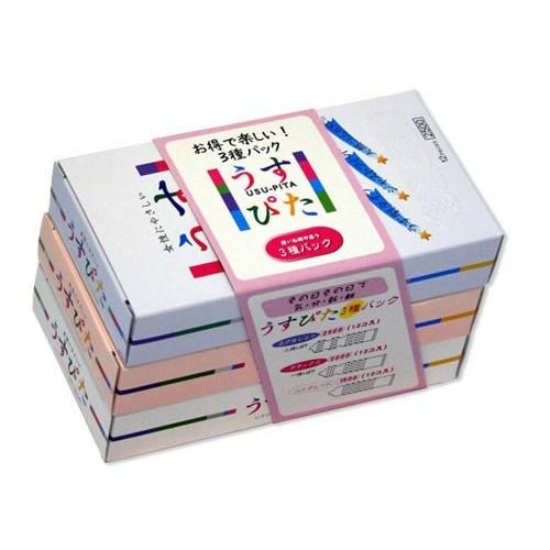 男性用コンドーム 4517739000660 送料込 まとめ買い×12個セット 海外限定 12個入 うすぴた 3種パック ジャパンメディカル 人気の製品
