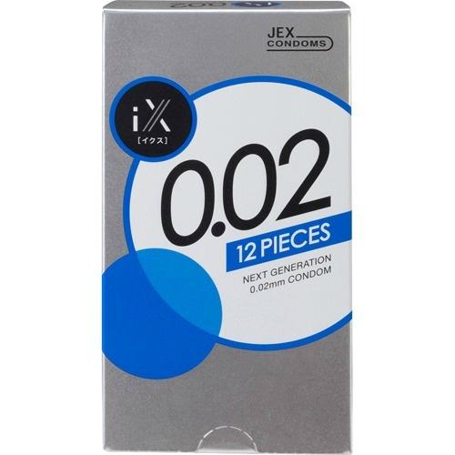 コンドーム 4973210030012 送料無料 まとめ買い×9個セット ジェクス 現品 イクス 即納送料無料! 12個入 0.02 iX