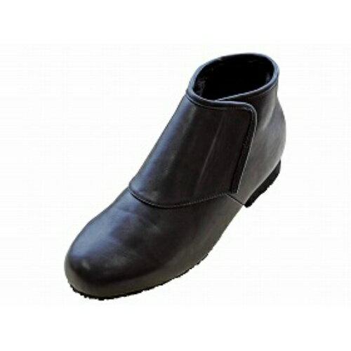 ウェルファン 防寒ブーツ リシェス 防滑ソール 紳士用ブラック S
