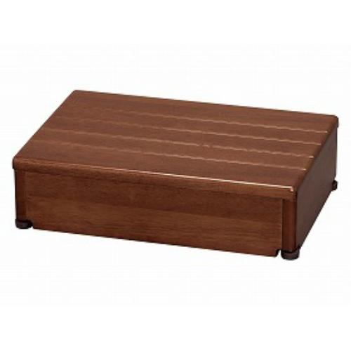 アロン化成  木製玄関台 45W-30-1段ブラウン