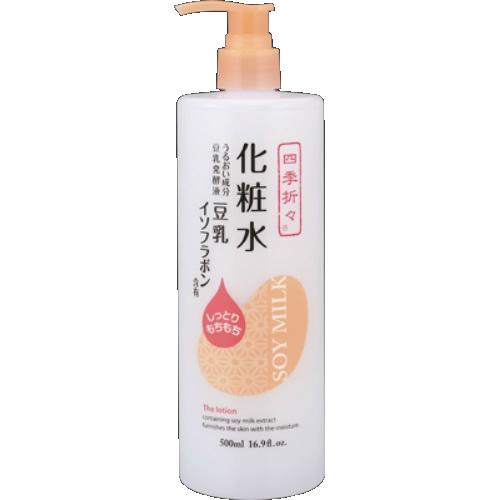 【送料無料】四季折々 豆乳イソフラボン 化粧水 500ml×20個セット