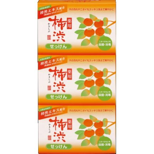 【送料込】薬用 柿渋石けん 3個パック×36個セット
