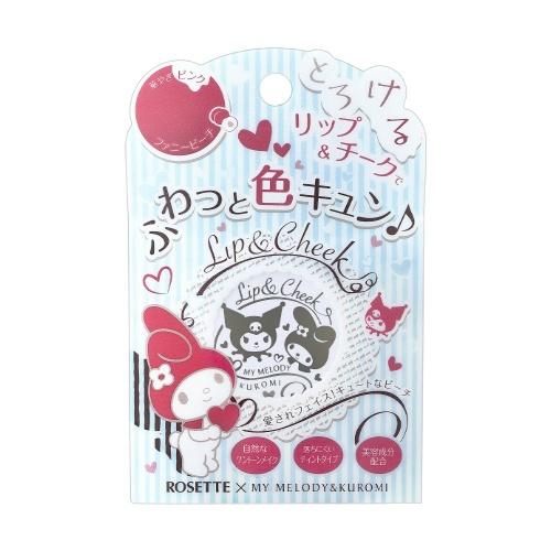 【送料無料】 ロゼット マイメロディ リップ&チーク ファニーピンク 4g×48個セット (4901696537138)