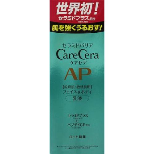 【送料無料】ロート製薬 ケアセラ APフェイス&ボディ乳液 200ml×36個セット
