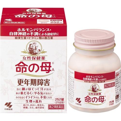 【第2類医薬品】命の母A 252錠 【あわせ買い2999円以上で送料無料】