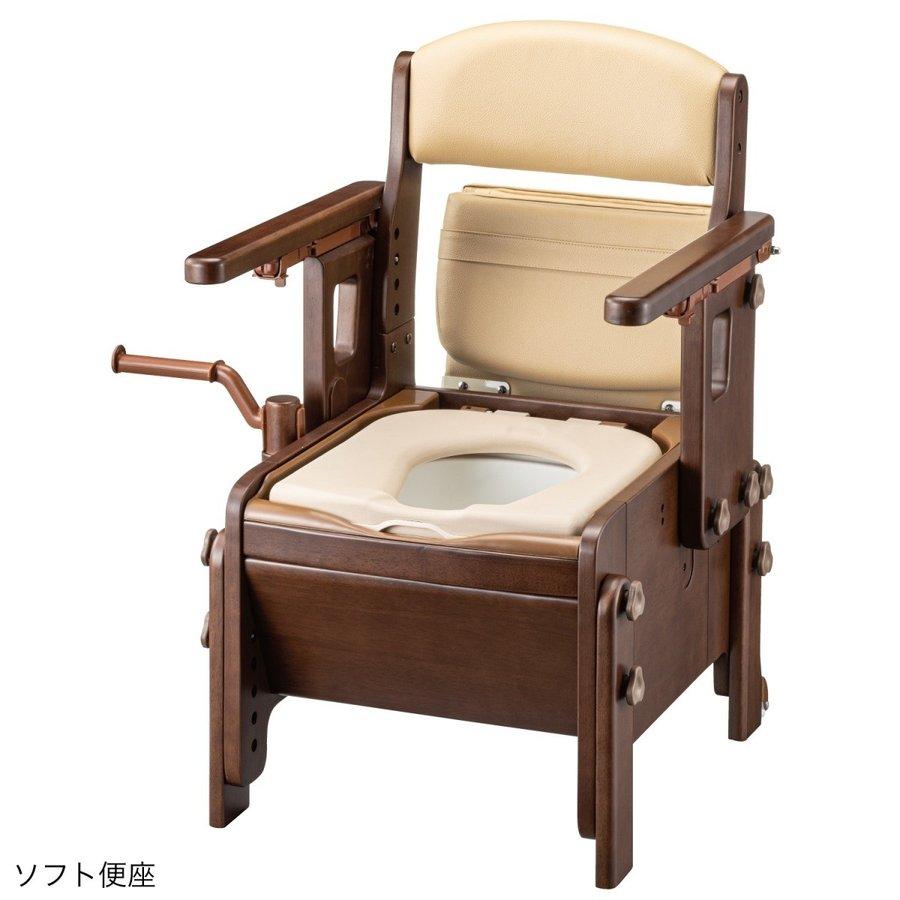 家具調スマートトイレNEO はねあげ / 533-686 ソフト便座