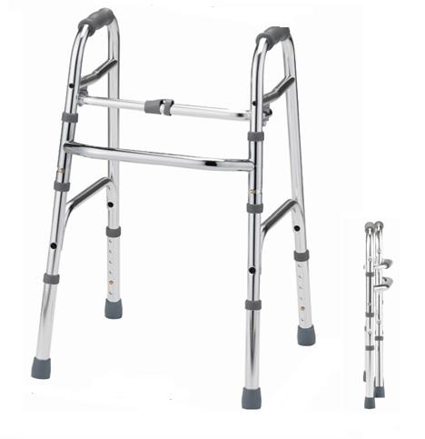 非課税【星光医療器製作所】歩行器 アルコー10型 M/L 屋内用 折りたたみ可 最大80kg