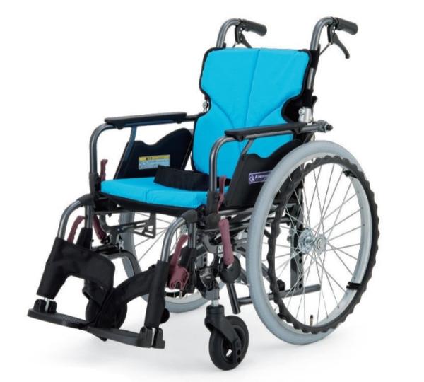 カワムラサイクル モダンB-STYLE (スイングイン・アウト脚部) 自走用車いす 22インチ KMD-B22-(38・40・42・45)-(M・H・SH) 多機能タイプ メーカー直送 非課税