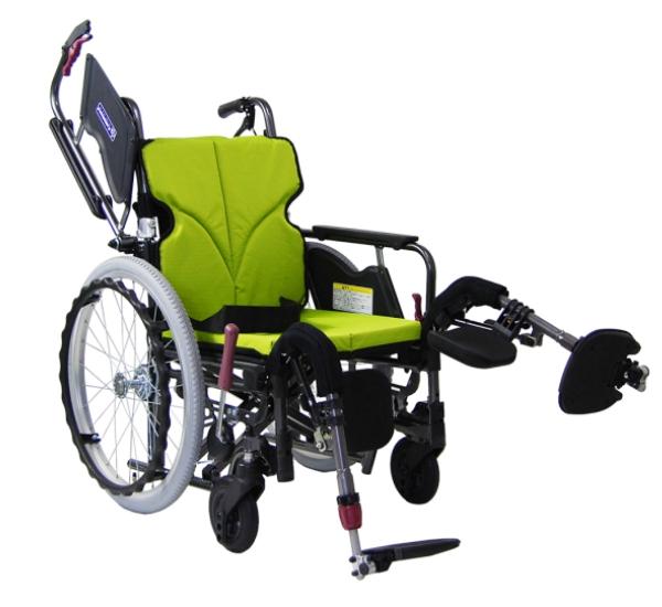 カワムラサイクル モダンB-STYLE 低床(エレベーティング脚部) 自走用車いす 20インチ KMD-B20-(38・40・42・45)-EL-(LO・SL・SSL) 多機能タイプ メーカー直送 非課税