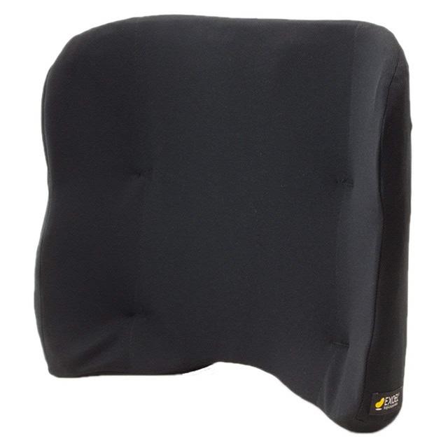 【加地】車いすに置くだけで腰や背中をサポート バッククッション ハイタイプ / BAC02-BK ブラック【送料無料(沖縄・北海道、一部地域除く)】車いす クッション 体圧分散 姿勢保持