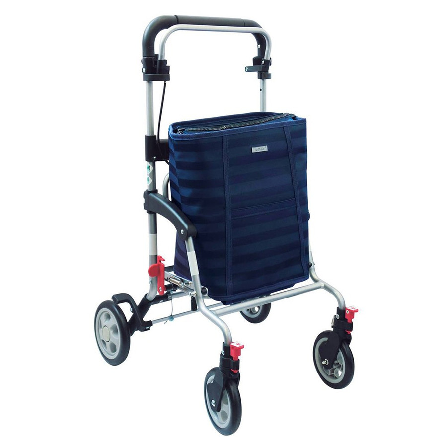 島製作所 シルバーカー アドリブプラス  色/ ボーダーB ショッピングカートとしても使用できます