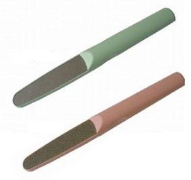 高級な 切らずに削って楽々お手入れ 介護用ダイヤモンド爪やすり ネルファW グリーン 色:ピンク 超人気 専門店
