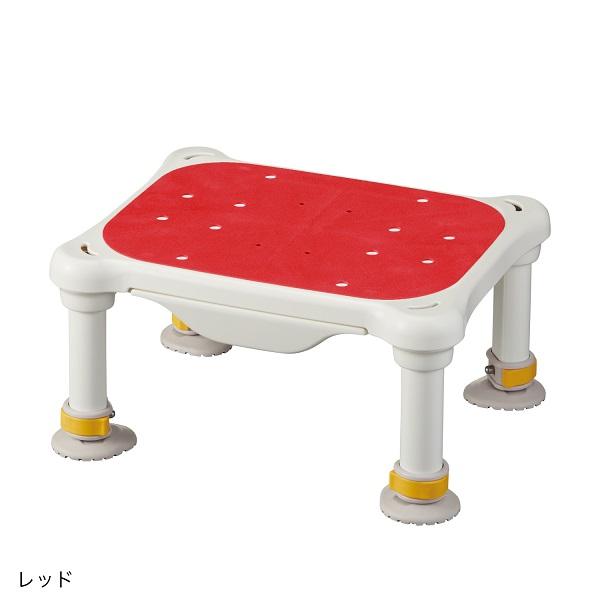 軽量浴槽台 すべり止めシートタイプ ミニ 16-26 / 536-575 レッド