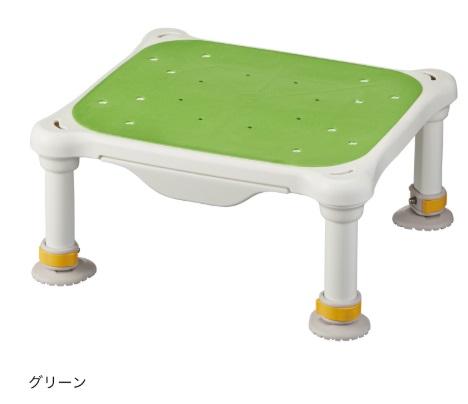 水切れよく最軽量クラス、浴槽からの出し入れ楽らく【アロン化成】安寿 軽量浴槽台 すべり止めシートタイプ ジャスト サイズ:(高さ)16-26cm 色:グリーン