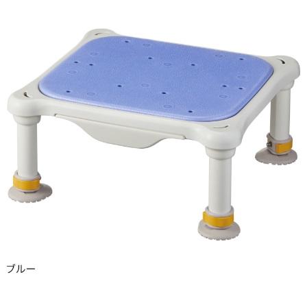 水切れよく最軽量クラス、浴槽からの出し入れ楽らく【アロン化成】安寿 軽量浴槽台 ソフトクッションタイプ ジャスト サイズ:(高さ)12-20cm 色:ブルー