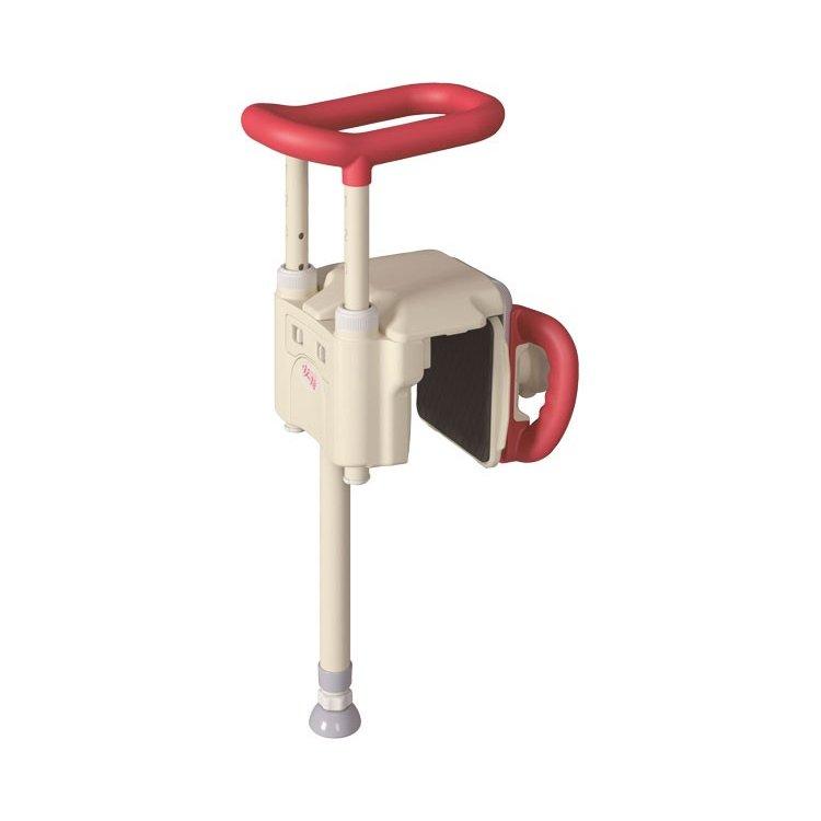 536-630 / ユニットバス対応浴槽手すり レッド UST-130UB