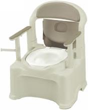 ポータブルトイレ きらく PS2型(普通便座)