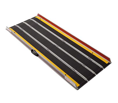 折りたたみ式軽量スロープ デクパック EBL (エッジ付) 長さ90cm JANコード: 4958519414008