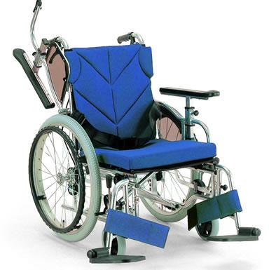アルミ自走車いす 低床型モジュール 自走用 低床 KZ20-38/40/42-LO 座幅38cm40cm42cm シートカラー3色 カワムラサイクル 非課税