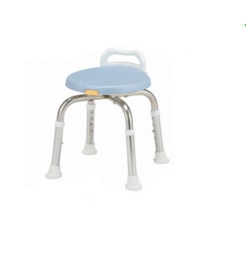 【送料無料】 アルコーステンレスシャワーチェアー ミニB ブルー 100599 星光医療器製作所 4537711005995 入浴 介護 シャワーイス コンパクト ステンレス製