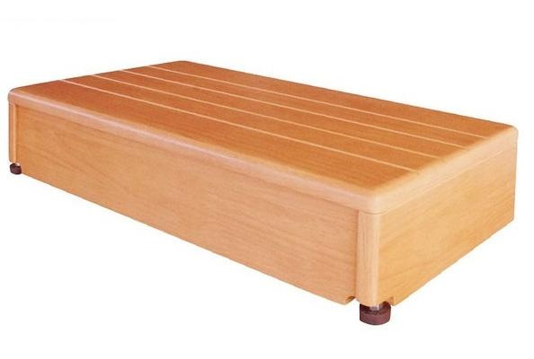 【シコク】玄関台(木製) 60W-30 640-020 (161-R0716)