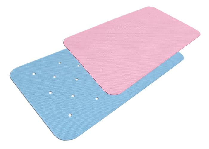ダイヤタッチ すべり止め健康お風呂マット(L100)ブルー/グリーン/ピンク/ブラウン 50×100cm 浴槽内 洗い場 浴室 シンエイテクノ