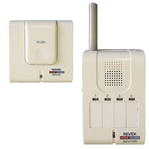 呼び出しボタン&携帯受信チャイム(REV120)