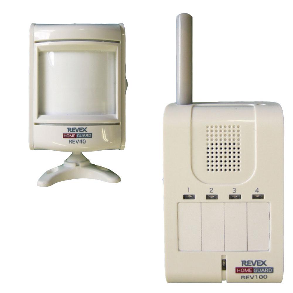 モーションセンサー&携帯受信チャイム(REV140)