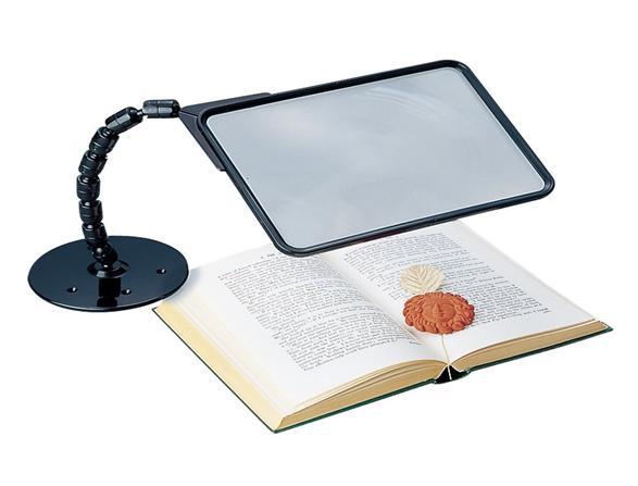海外輸入 置いたままで全体が見れる せぼね君ルーペ 倉庫 読書用 ルーペ 拡大鏡 読書用ルーペ スタンド