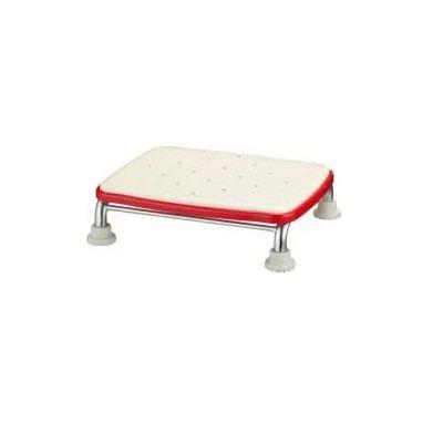 浴槽内での立ち上がりをラクにしたい方や出入りする際の踏み台として ステンレス製浴槽台Rソフトクッションタイプ【アロン化成】標準/ミニ10cm