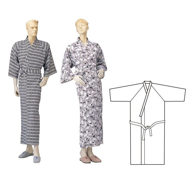 レギュラーガーゼねまき(通年用/特大サイズ)【神戸生絲】ラグラン袖
