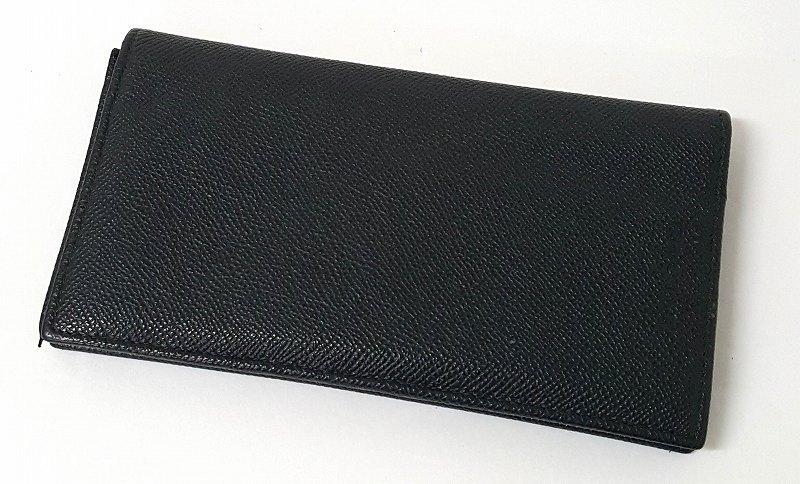 【中古】BVLGARI ブルガリ レザー 二つ折り長財布 ウォレット