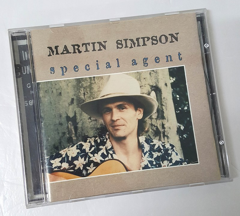 【中古】Special Agent MARTIN SIMPSON 形式:CD
