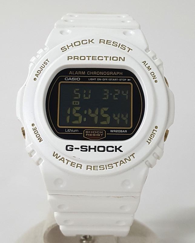 【中古】CASIO カシオ G-SHOCK ジーショック 25周年記念モデル スティング DW-5725B 腕時計