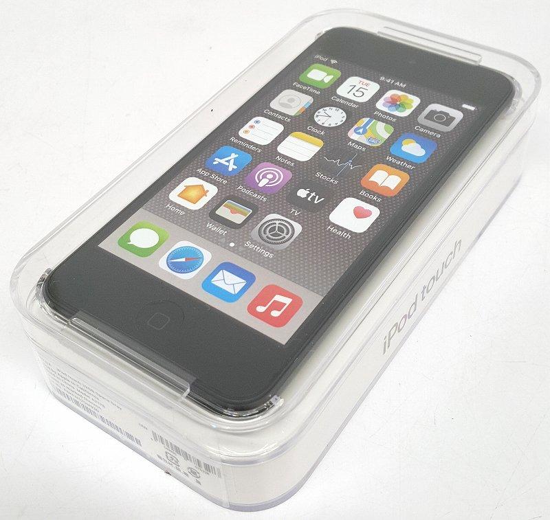 未開封品 中古 Apple アップル iPod touch 7th generation 激安通販販売 A 家電 ポータブルオーディオ 第7世代 32GB MVHW2J 売り出し スペースグレイ ミュージックプレーヤー